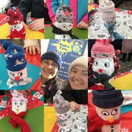 Darlington event's record number of snowmen!